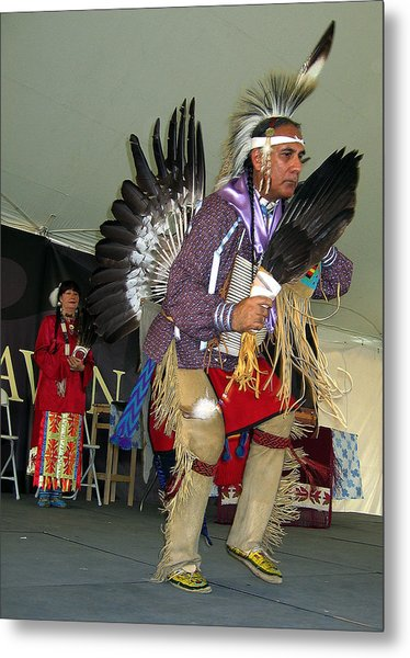 American Indian Dance Metal Print by Bill Marder