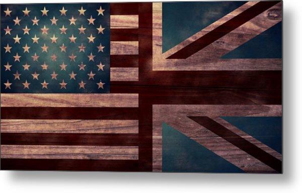 American Jack II Metal Print