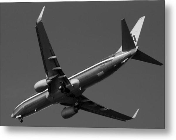 American Jet Landing Metal Print