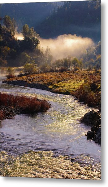 Metal Print featuring the photograph American River Confluence by Sherri Meyer