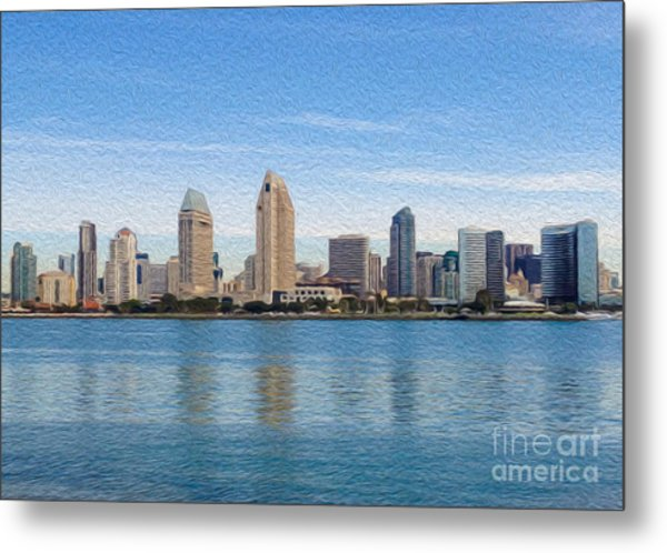 Americas Finest City Metal Print