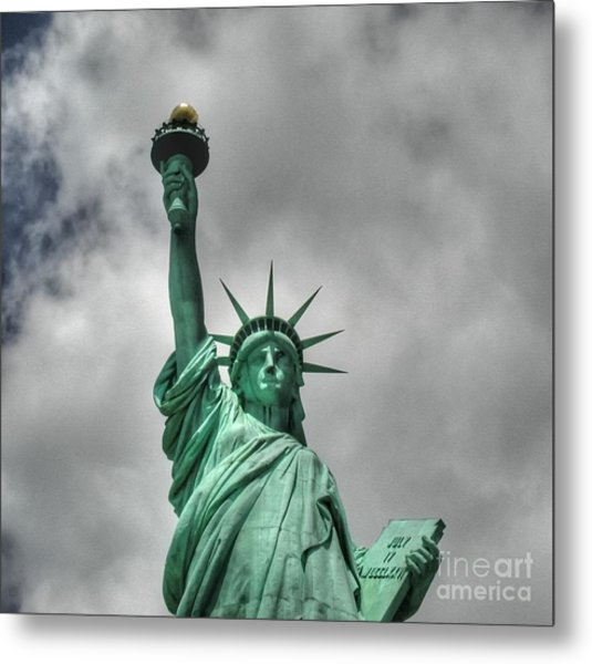 America's Lady Liberty Metal Print
