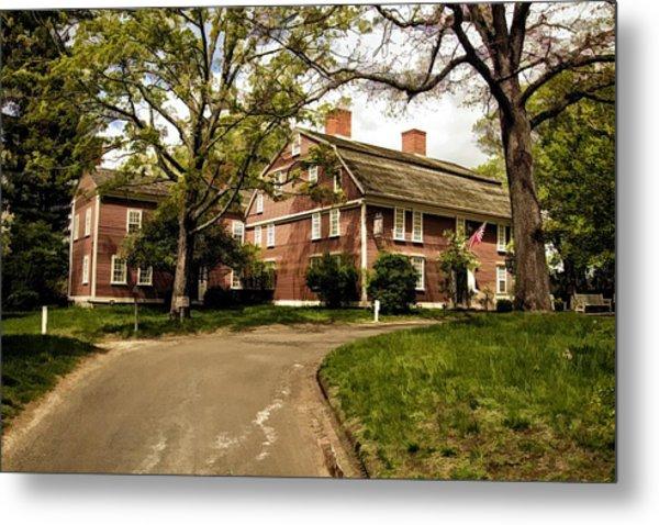America's Oldest Inn Longfellow's Wayside Inn In Sudbury Massachusetts Metal Print