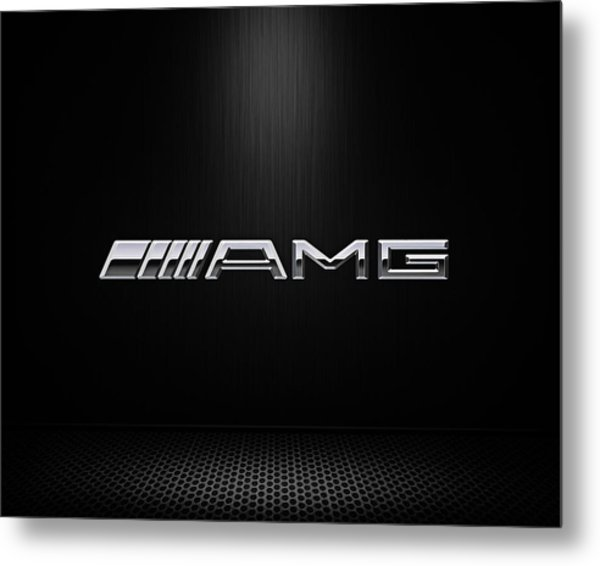 Amg Center Stage Metal Print