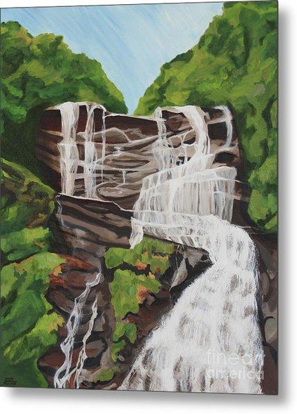 Amicalola Falls Metal Print