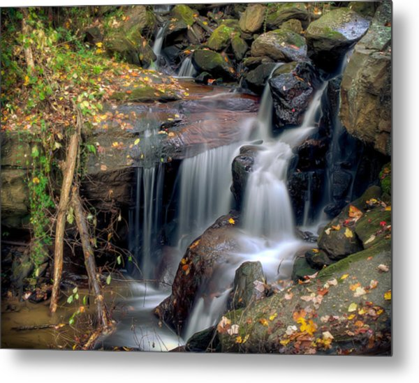Amicalola Waterfall Metal Print