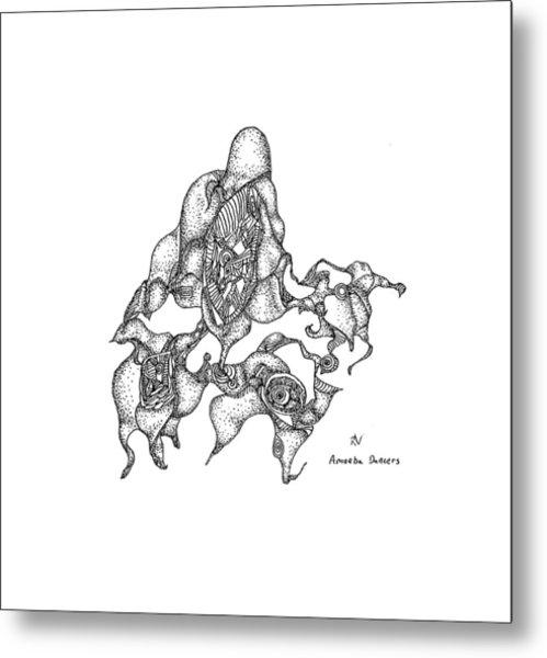 Amoeba Dancers Metal Print