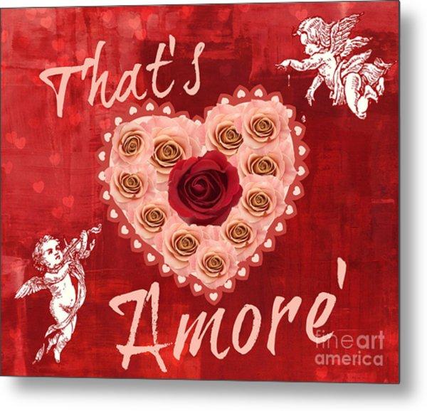 Amore Valentine Metal Print
