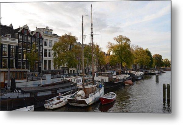 Amstel River Metal Print