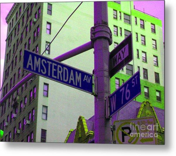 Amsterdam Avenue Metal Print
