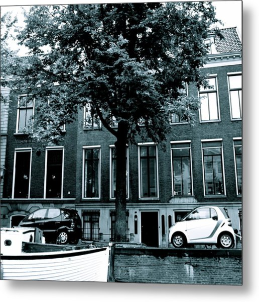Amsterdam Electric Car Metal Print
