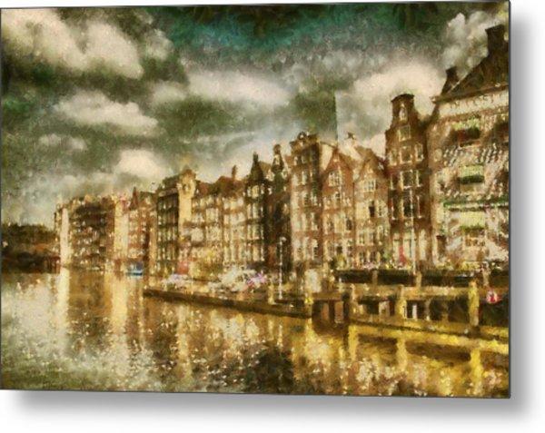 Amsterdam Metal Print by Jose Maqueda