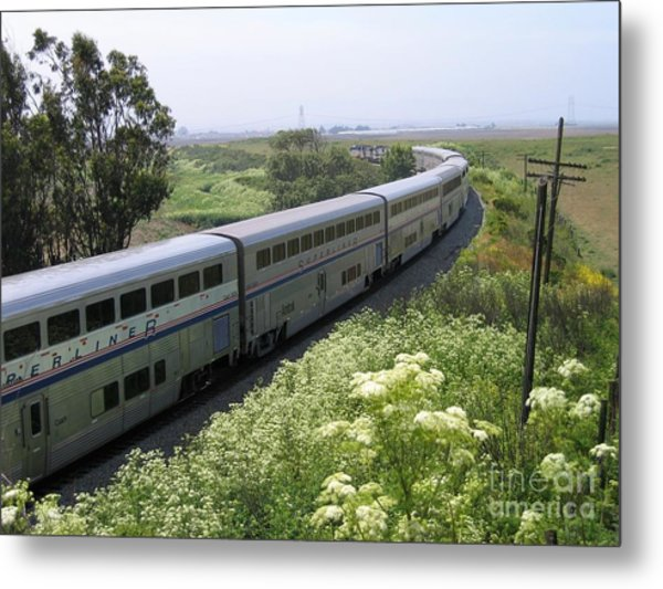 Coast Starlight At Dolan Road Metal Print