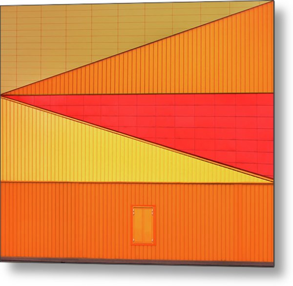 An Agora Variation Metal Print by Theo Luycx