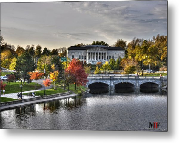 An Autumn Day At Hoyt Lake...dusk Oct2014 Metal Print