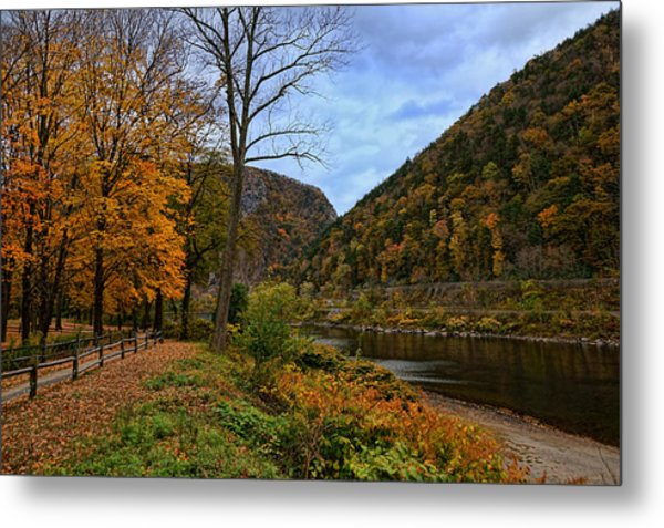 An Autumn Day Metal Print by Lanis Rossi