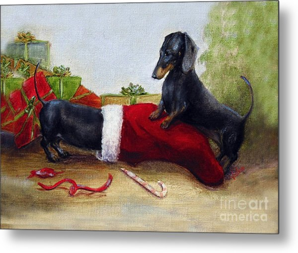 An Early Christmas Metal Print by Stella Violano
