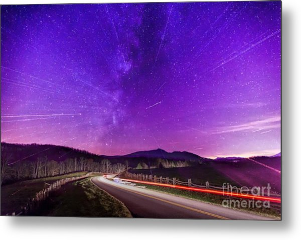 An Explosion In The Milky Way Metal Print