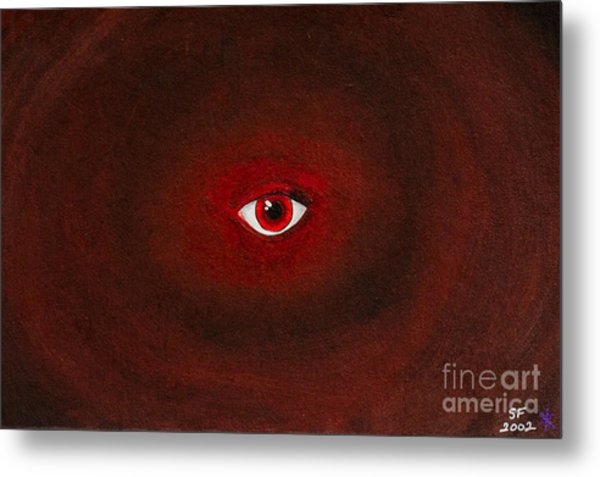 An Eye Is Upon You Metal Print