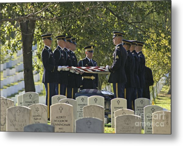 An Honored Dead Metal Print