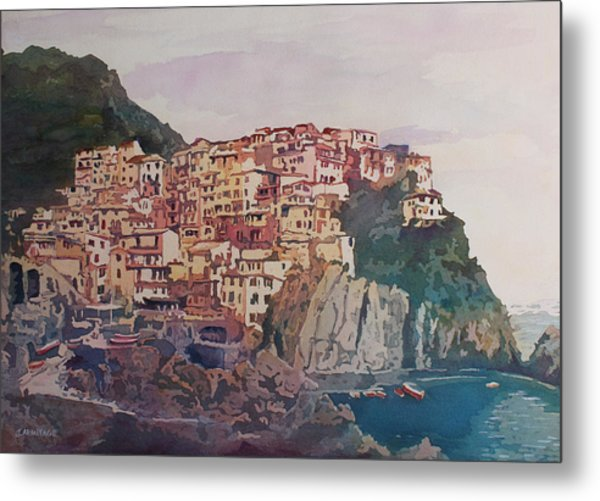 An Italian Jewel Metal Print