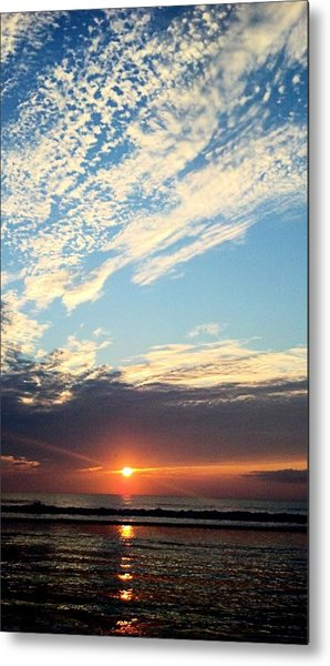 An Ocean And A Sunrise Metal Print