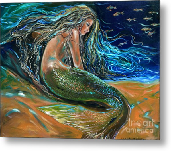 An Undersea Repose Metal Print