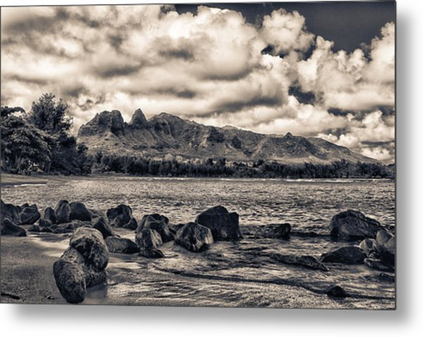 Anahola Mountains Metal Print
