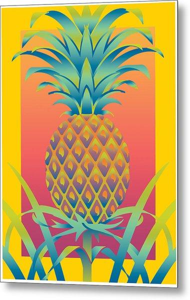 Ananas Metal Print