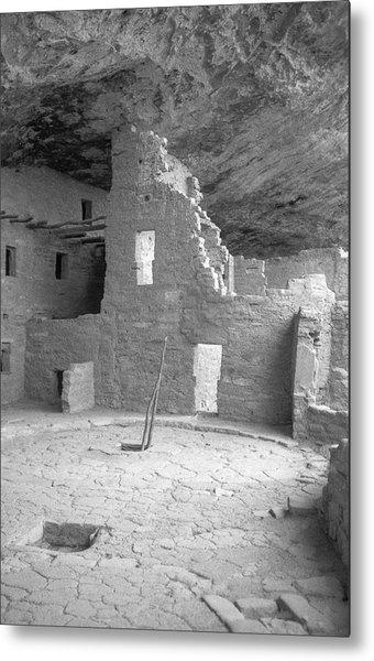 Anasazi Ruin At Mesa Verde Metal Print