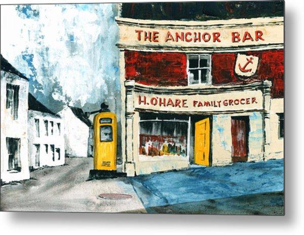 Anchor Bar  Carlingford  Louth Metal Print