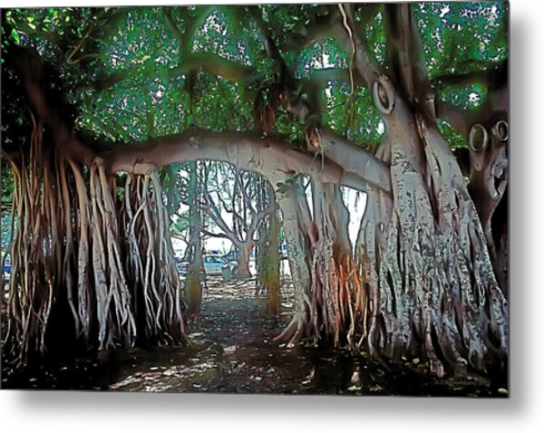Ancient Arch Metal Print