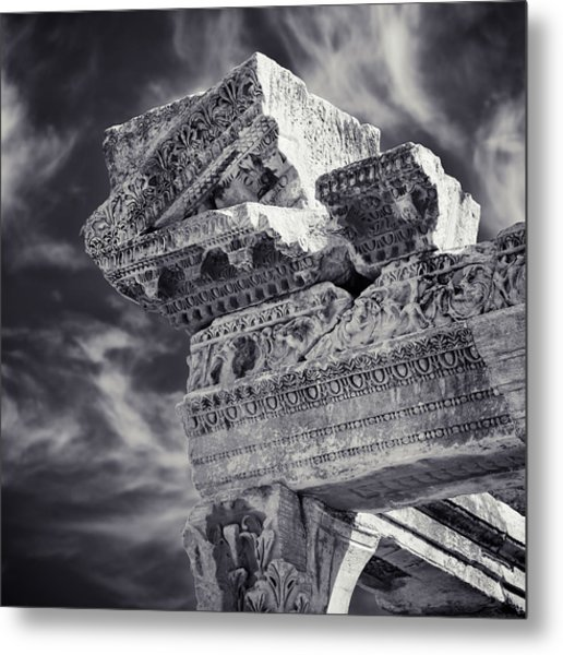 Ancient Metal Print