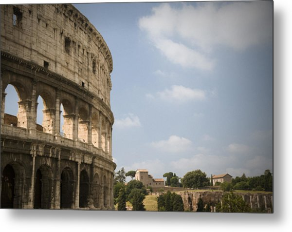 Ancient Colosseum Metal Print