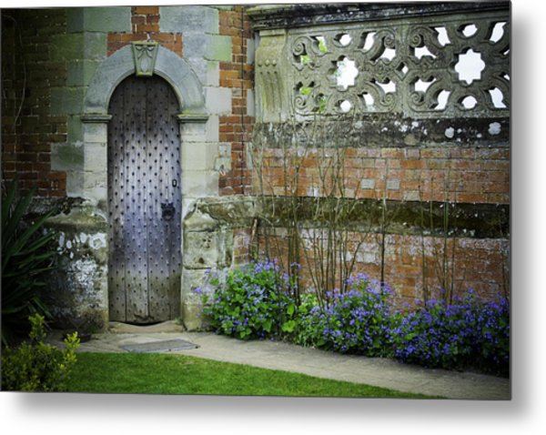 Ancient Door Metal Print by Lesley Rigg