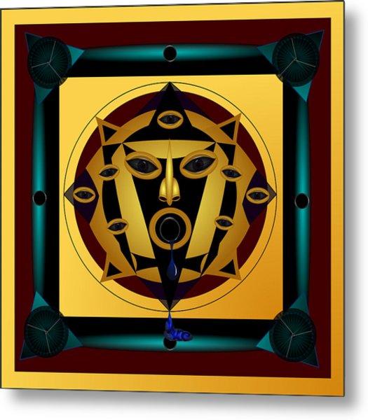 Ancient Eyes Metal Print