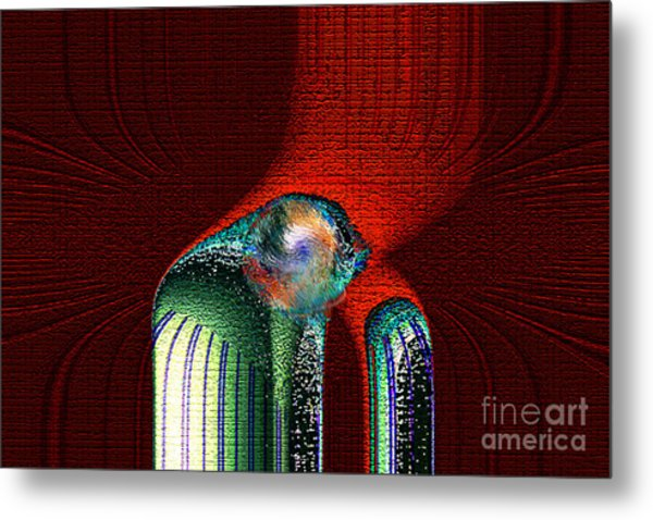 Ancient Memory Spirit Compassion Metal Print by Rebecca Phillips