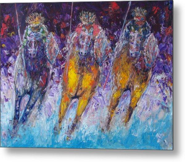 Ancient Oromo Warriors. Metal Print