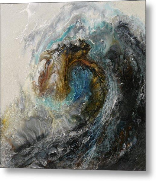 Ancient Seas Sold Metal Print by Lia Melia