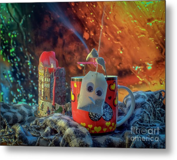 And For Some It's Just A Cozy Evening Metal Print