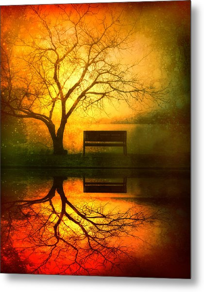 And I Will Wait For You Until The Sun Goes Down Metal Print