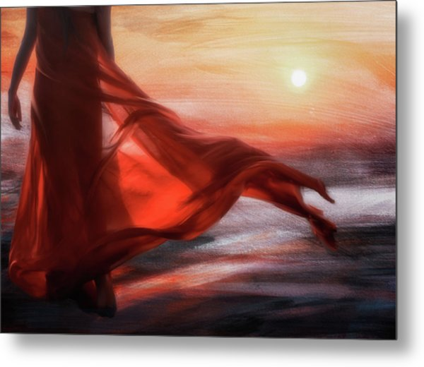 And The Sun Will Make For Your Way... Metal Print