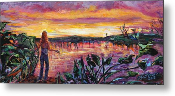 And Then She Was Gone Metal Print by Susi LaForsch