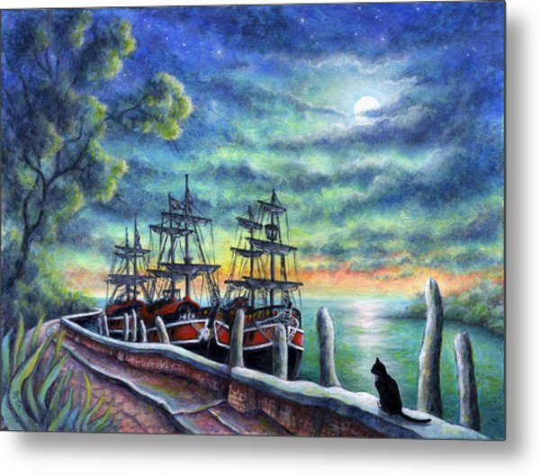 And We Shall Sail My Love And I Metal Print