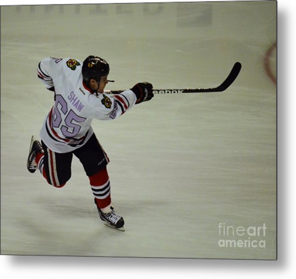 Andrew Shaw Fights Cancer Metal Print