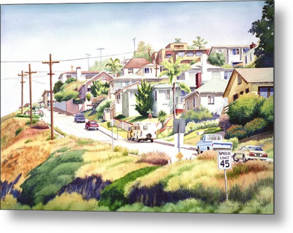 Andrews Street Mission Hills Metal Print