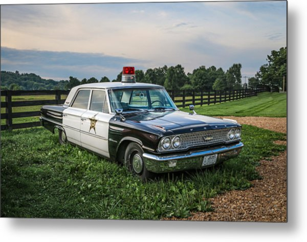 Andy's Car Metal Print by EG Kight