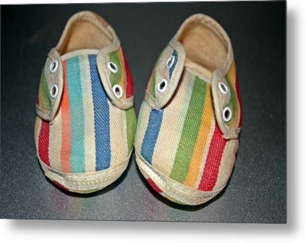 Andy's Shoes Metal Print