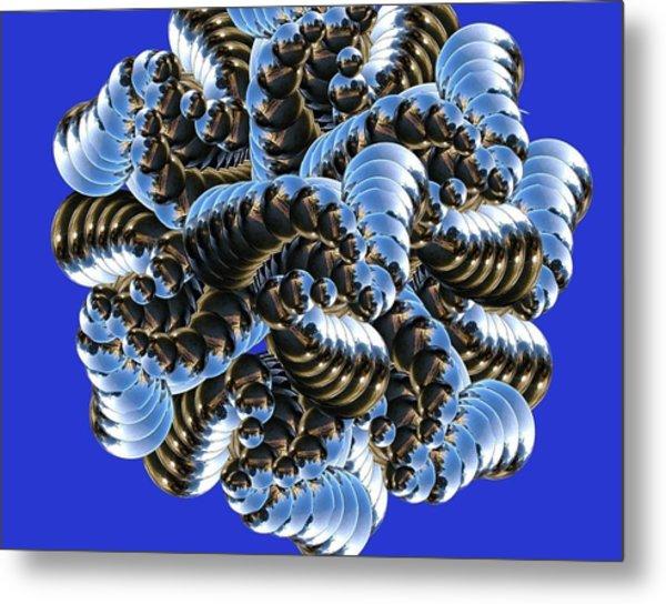 Anemone Metal Print by Soumya Bouchachi