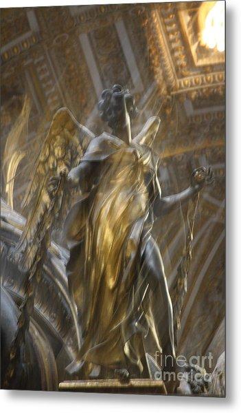 Angel In Motion Metal Print